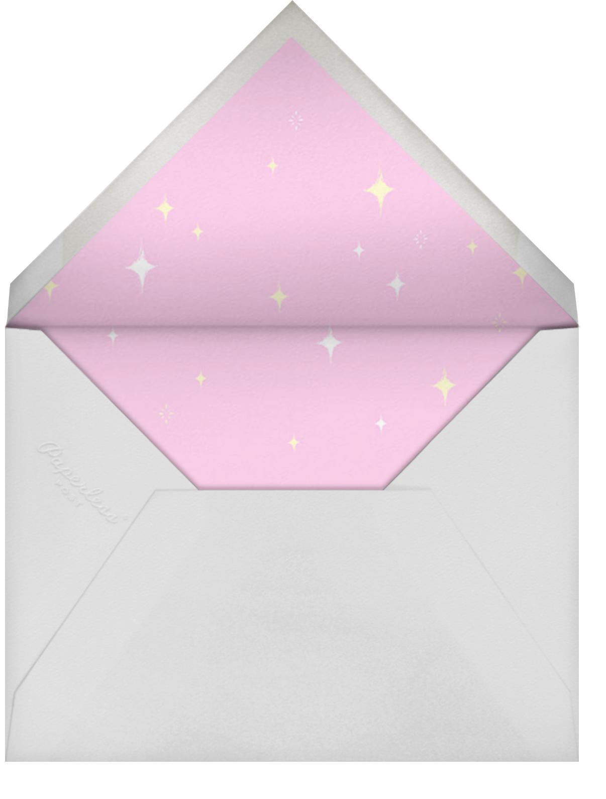 Unicorn Hair - Paperless Post - Birthday - envelope back