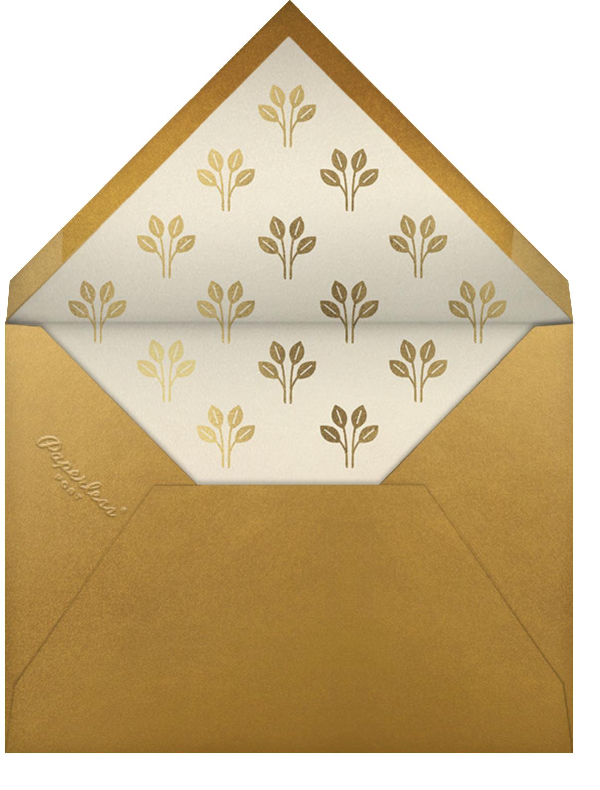 Roman à Clef - Paperless Post - Housewarming - envelope back