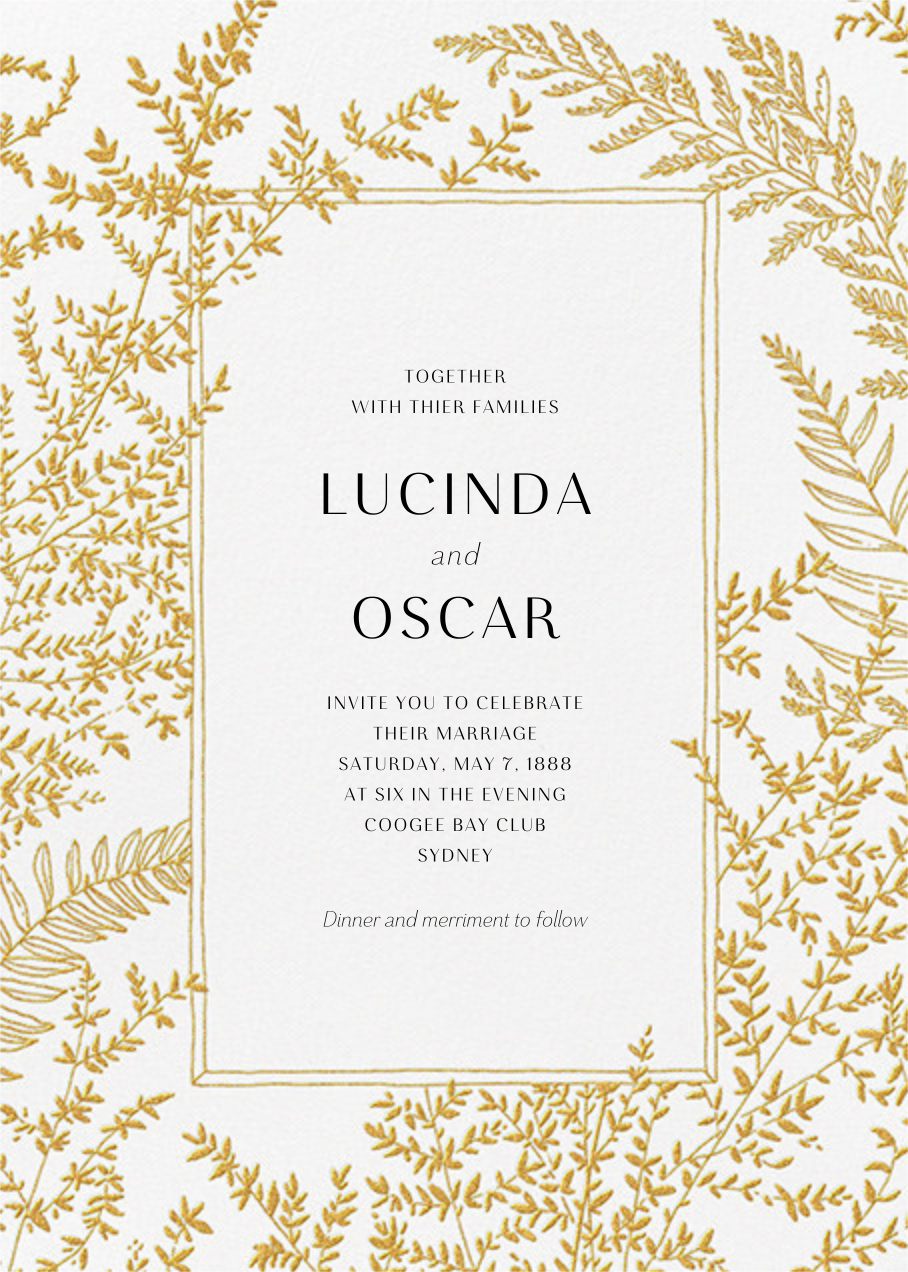 Fionola (Invitation) - Paperless Post - Wedding invitations