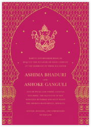 Wedding invitations - online at Paperless Post