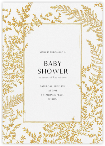 Fionola - Paperless Post - Baby Shower Invitations