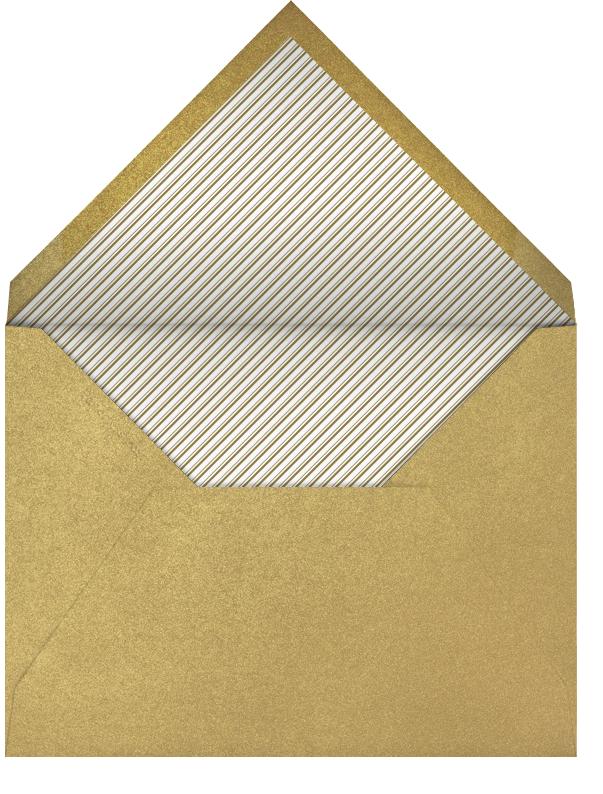 Ornate Fireworks (Cream) - Paperless Post - Envelope