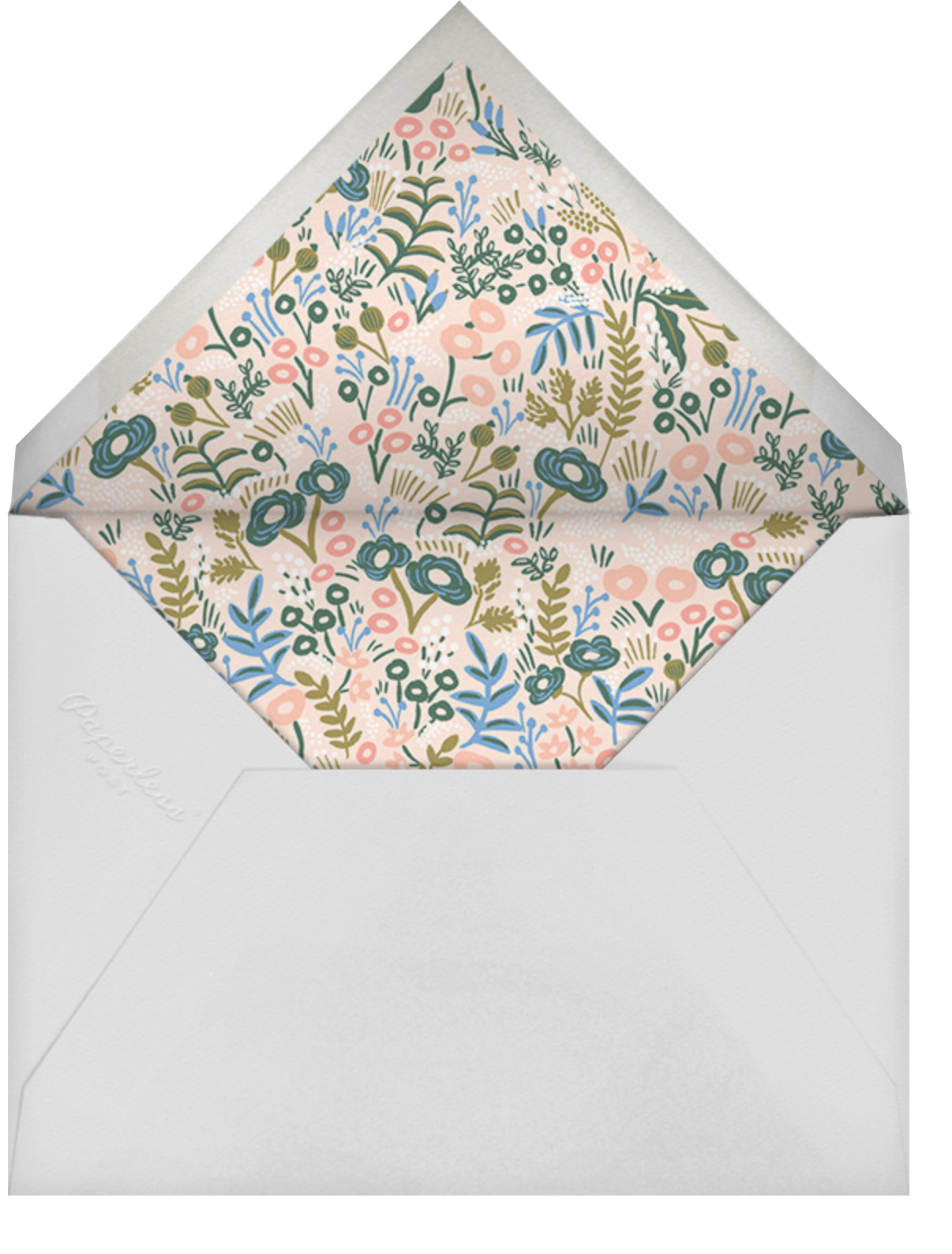 Floral Tapestry - Pavlova - Rifle Paper Co. - Mother's Day - envelope back