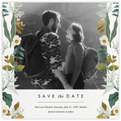 Meadow Garland Photo - Rifle Paper Co. - Photo save the dates