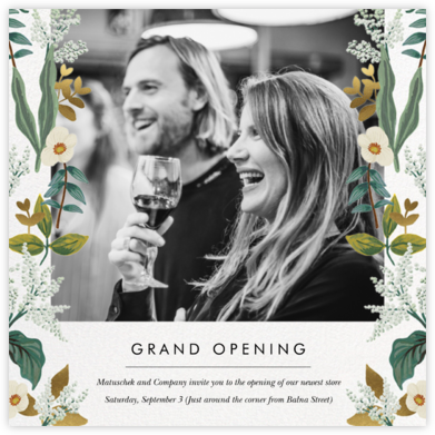 Meadow Garland Photo - Rifle Paper Co. - Launch and event invitations