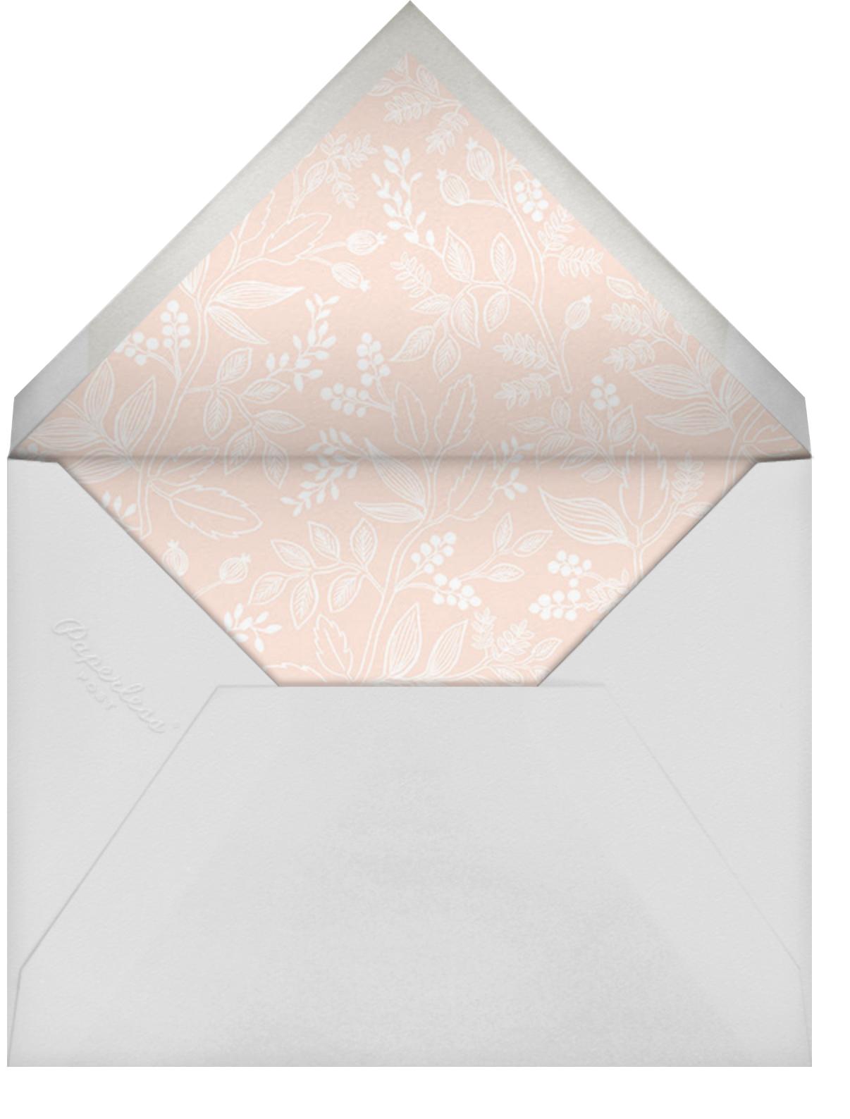 Queen Anne - Rifle Paper Co. - Winter parties - envelope back