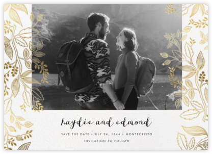 Queen Anne Photo (Horizontal) - Rifle Paper Co. - Save the dates