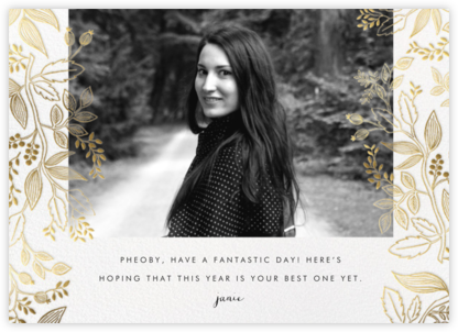Queen Anne Photo (Horizontal) - Rifle Paper Co. - Birthday Cards