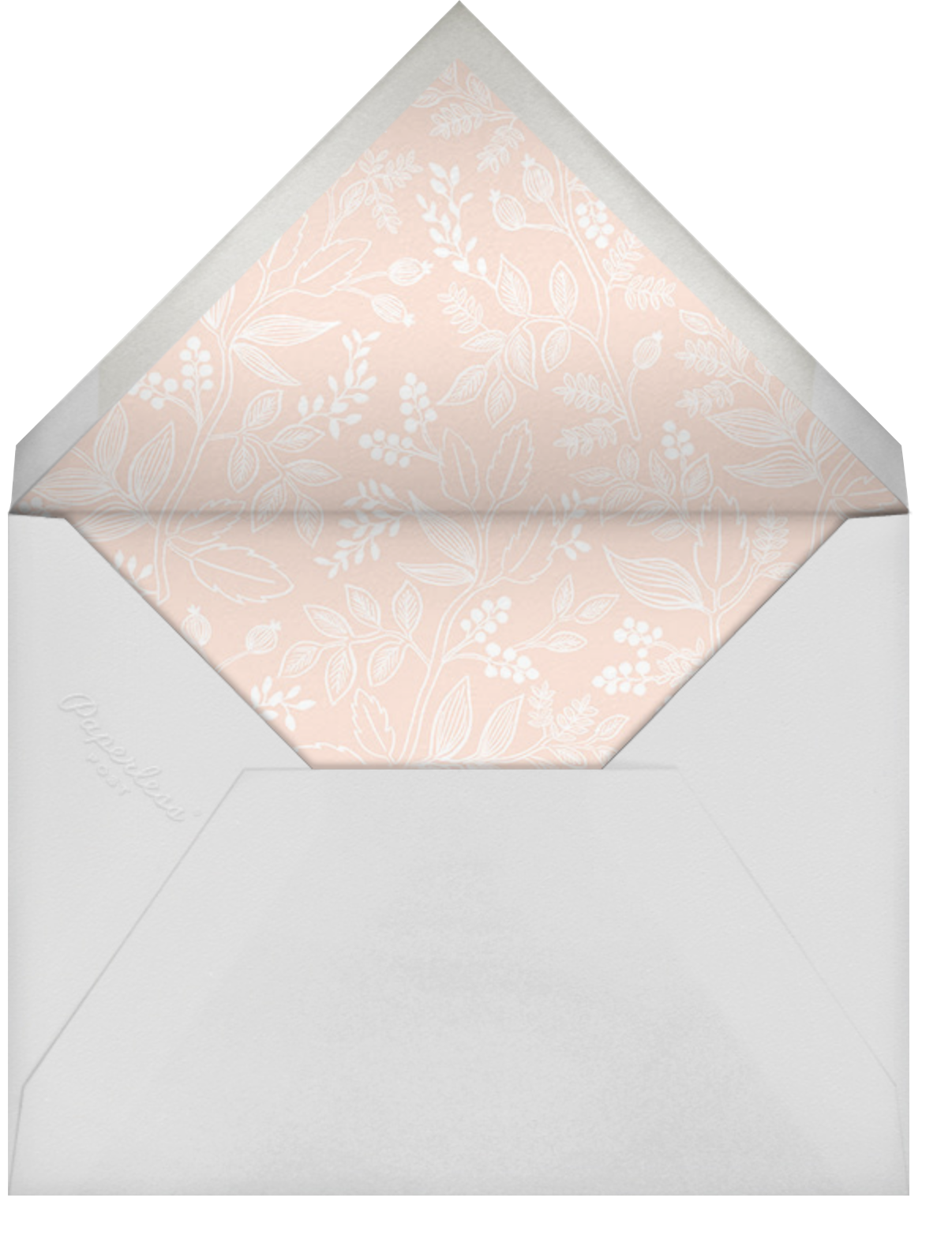 Queen Anne Photo (Horizontal) - Rifle Paper Co. - Anniversary party - envelope back