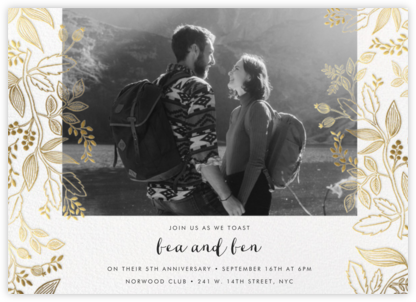 Queen Anne Photo (Horizontal) - Rifle Paper Co. - Celebration invitations