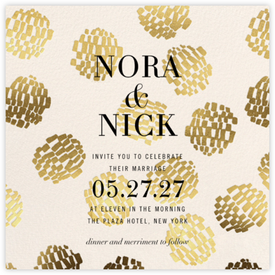 Cloisonne (Invitation) - Kelly Wearstler - Modern wedding invitations