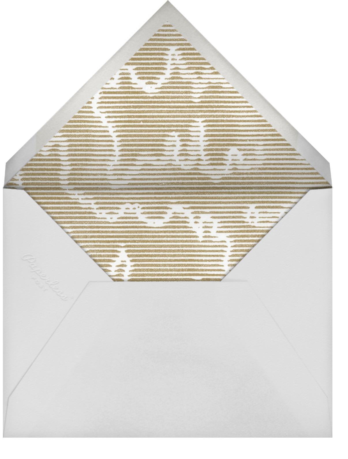 Plaustro (Invitation) - Kelly Wearstler - All - envelope back