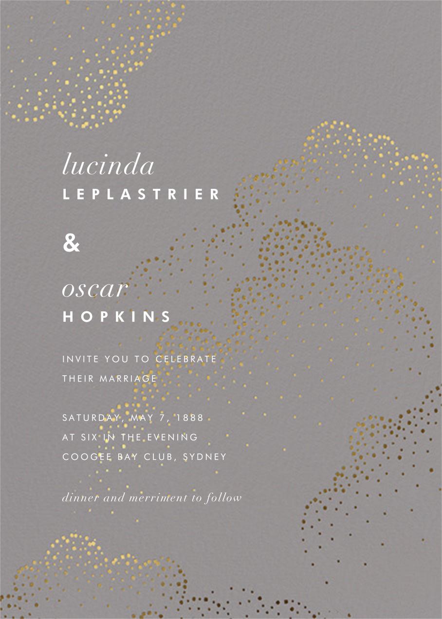 Plaustro (Invitation) - Kelly Wearstler - Kelly Wearstler wedding
