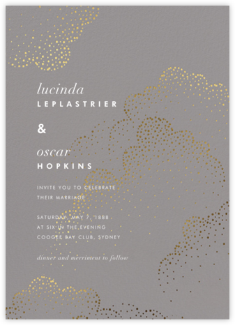 Plaustro (Invitation) - Kelly Wearstler - Kelly Wearstler wedding