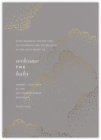Plaustro - Kelly Wearstler - Baby Shower Invitations