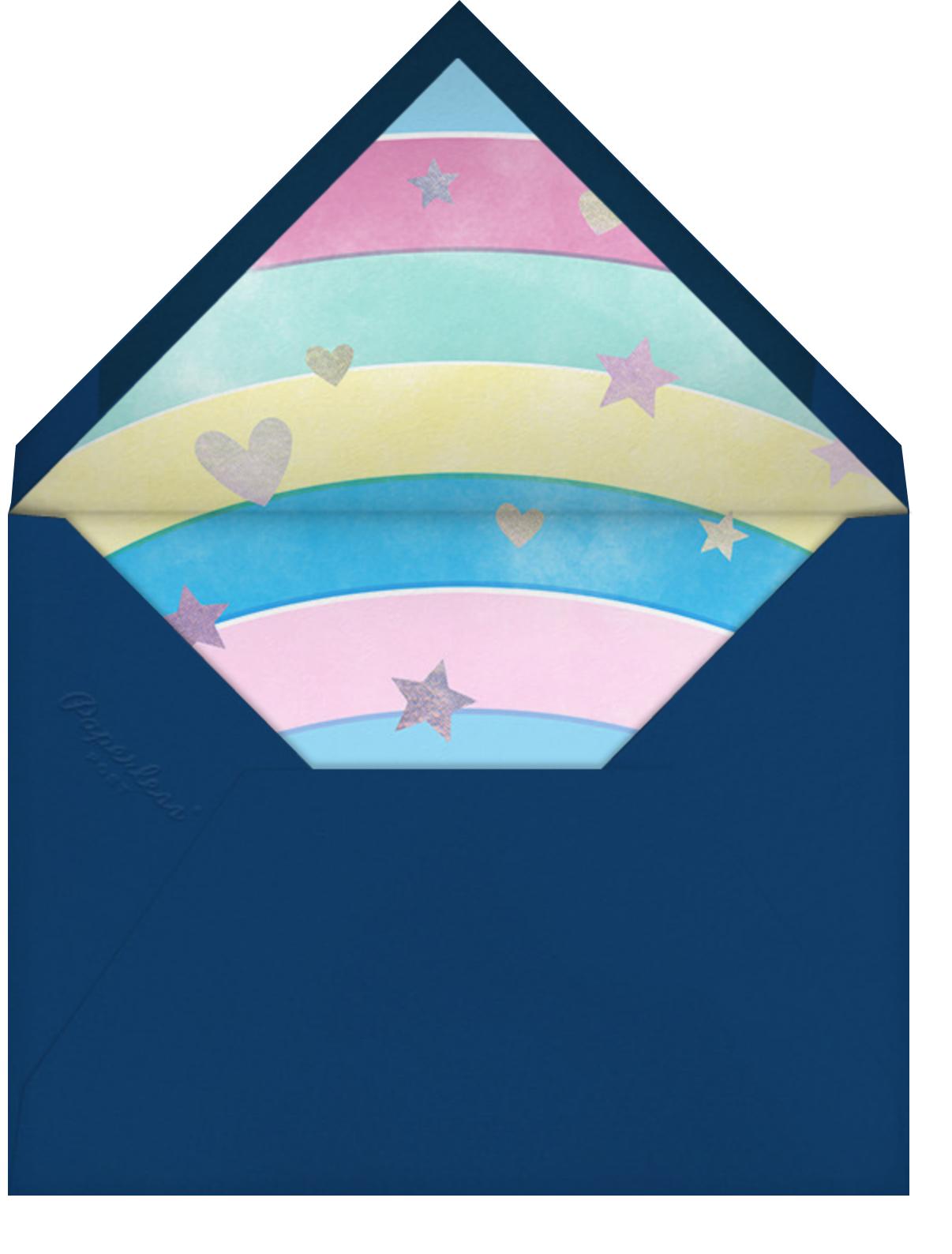 Troll Out - Dark Blue - Paperless Post - Kids' birthday - envelope back
