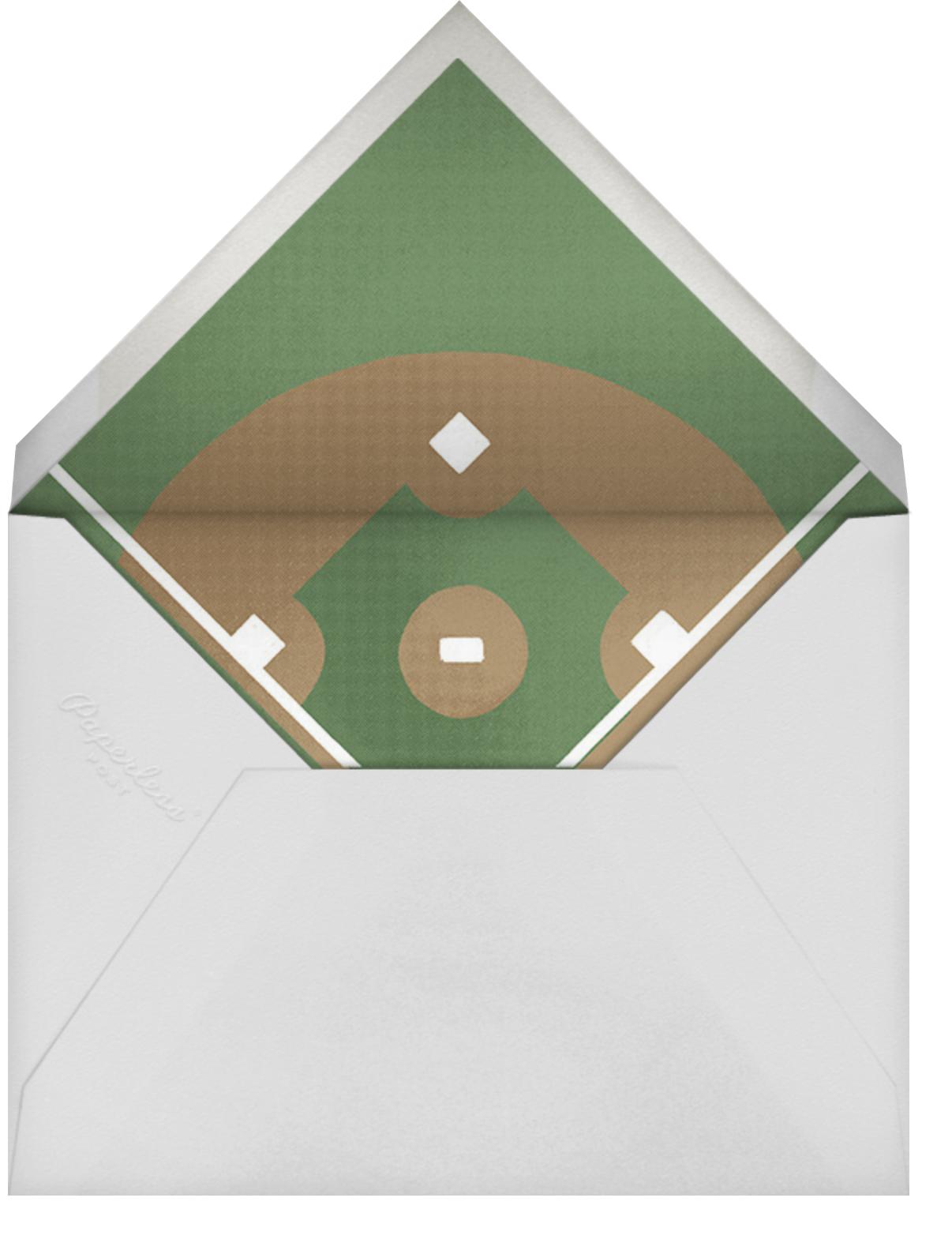 Courtside Seats - Baseball - Paperless Post - Sports - envelope back