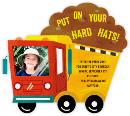 Down in the Dumps - Paperless Post - Trains, planes, and cars