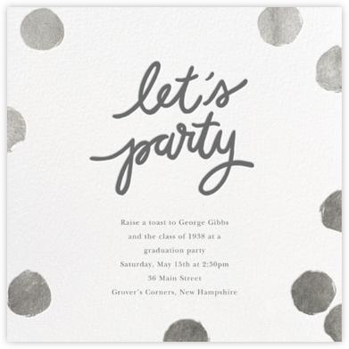 Big Dot Party - Silver - Sugar Paper - Sugar Paper