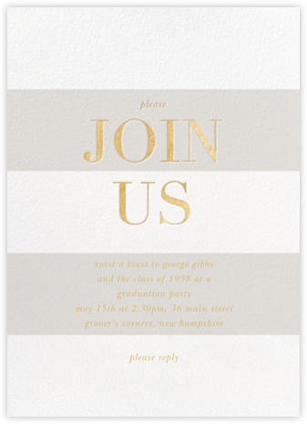 Bold Welcome - Gray - Sugar Paper - Sugar Paper