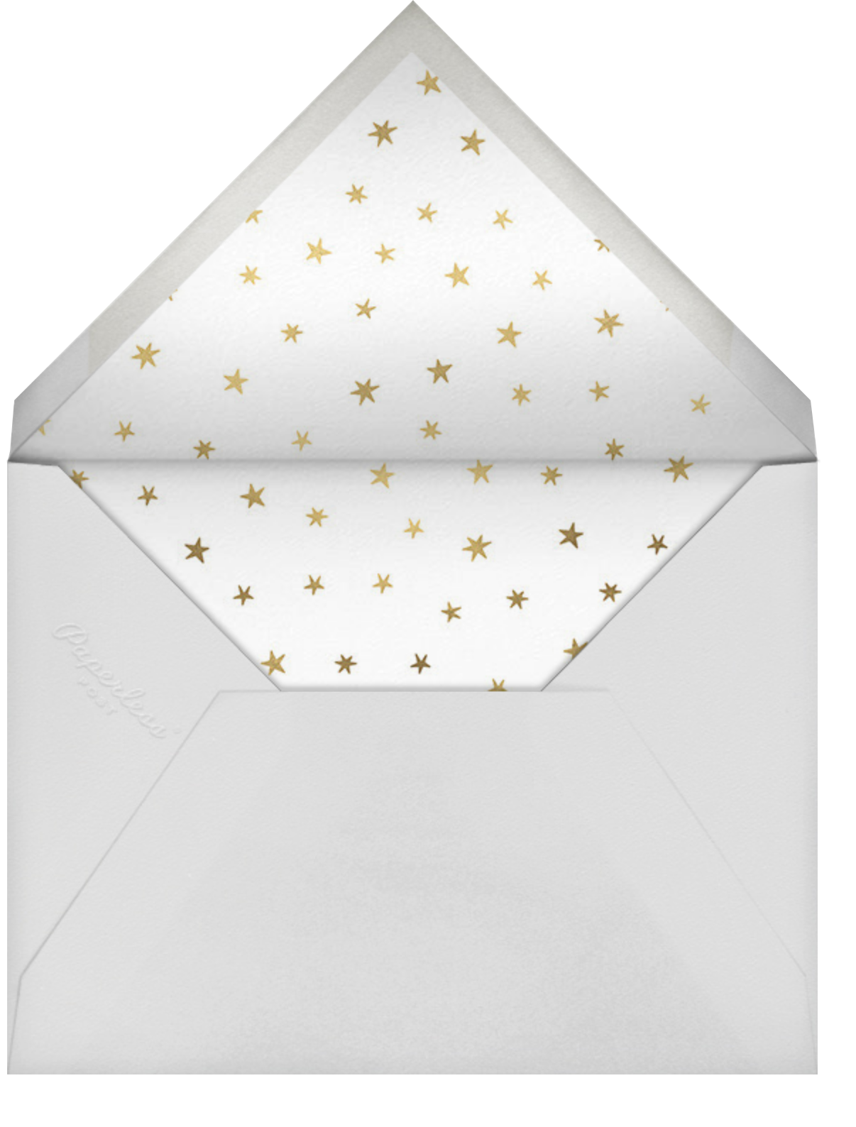 Bonjour Paris - Little Cube - Baby shower - envelope back