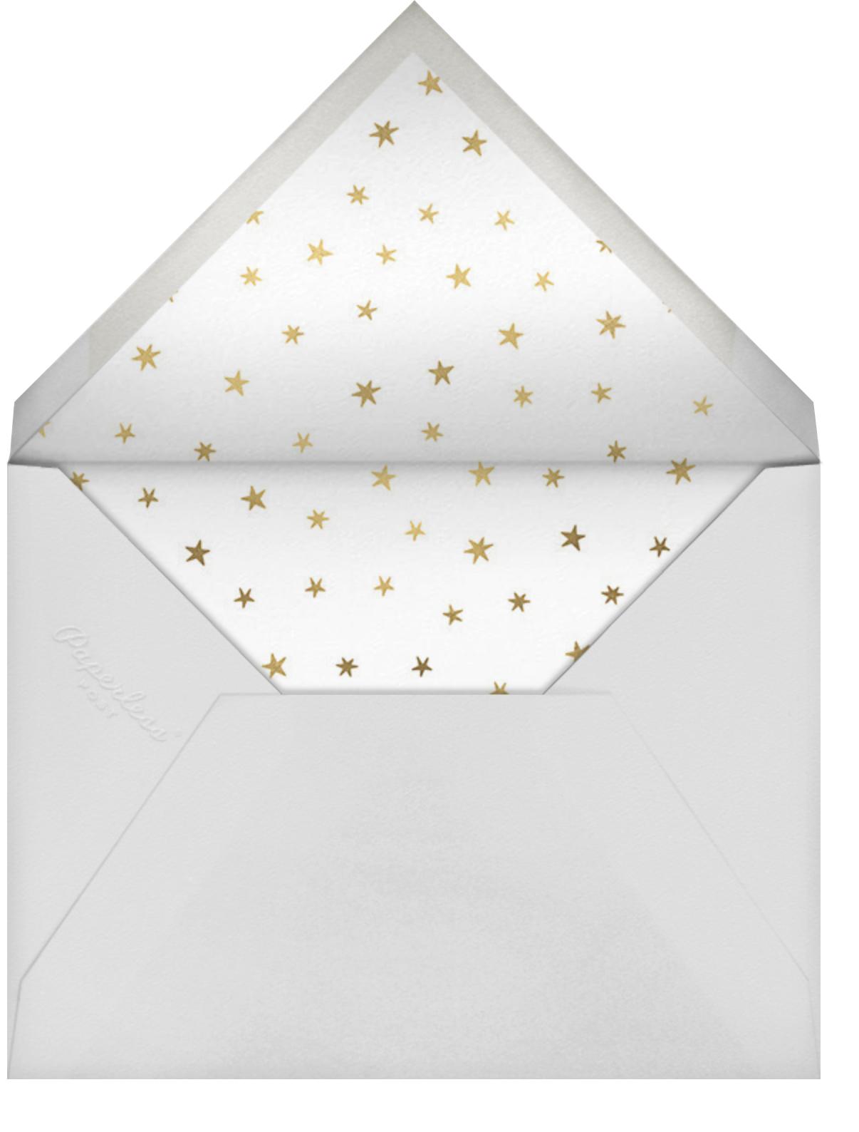Bonjour Paris - Little Cube - Kids' birthday - envelope back