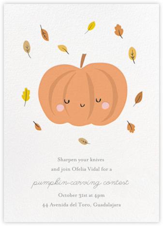 Little Pumpkin - Little Cube - Holiday