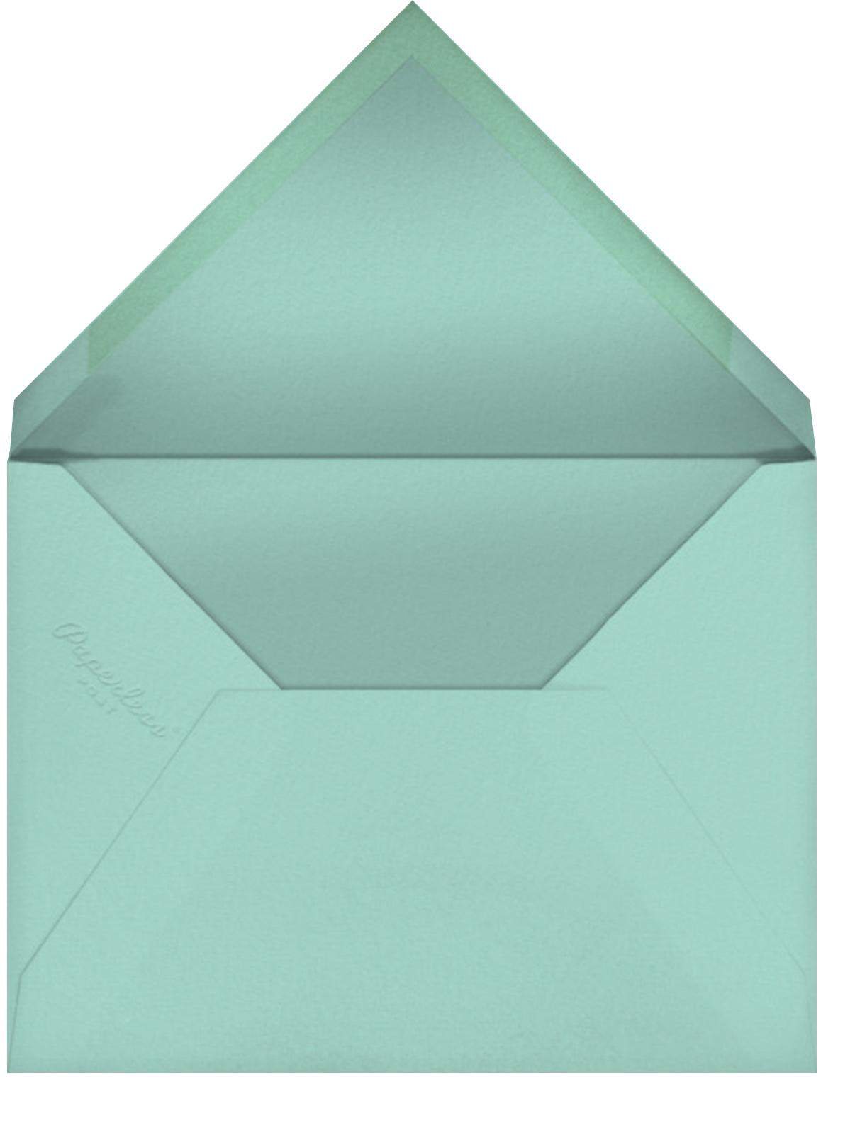 Prickly Pals - Little Cube - Bachelorette party - envelope back