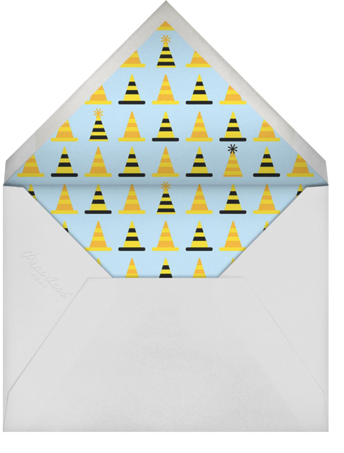 Birthday Dozer - Cheree Berry - Kids' birthday - envelope back