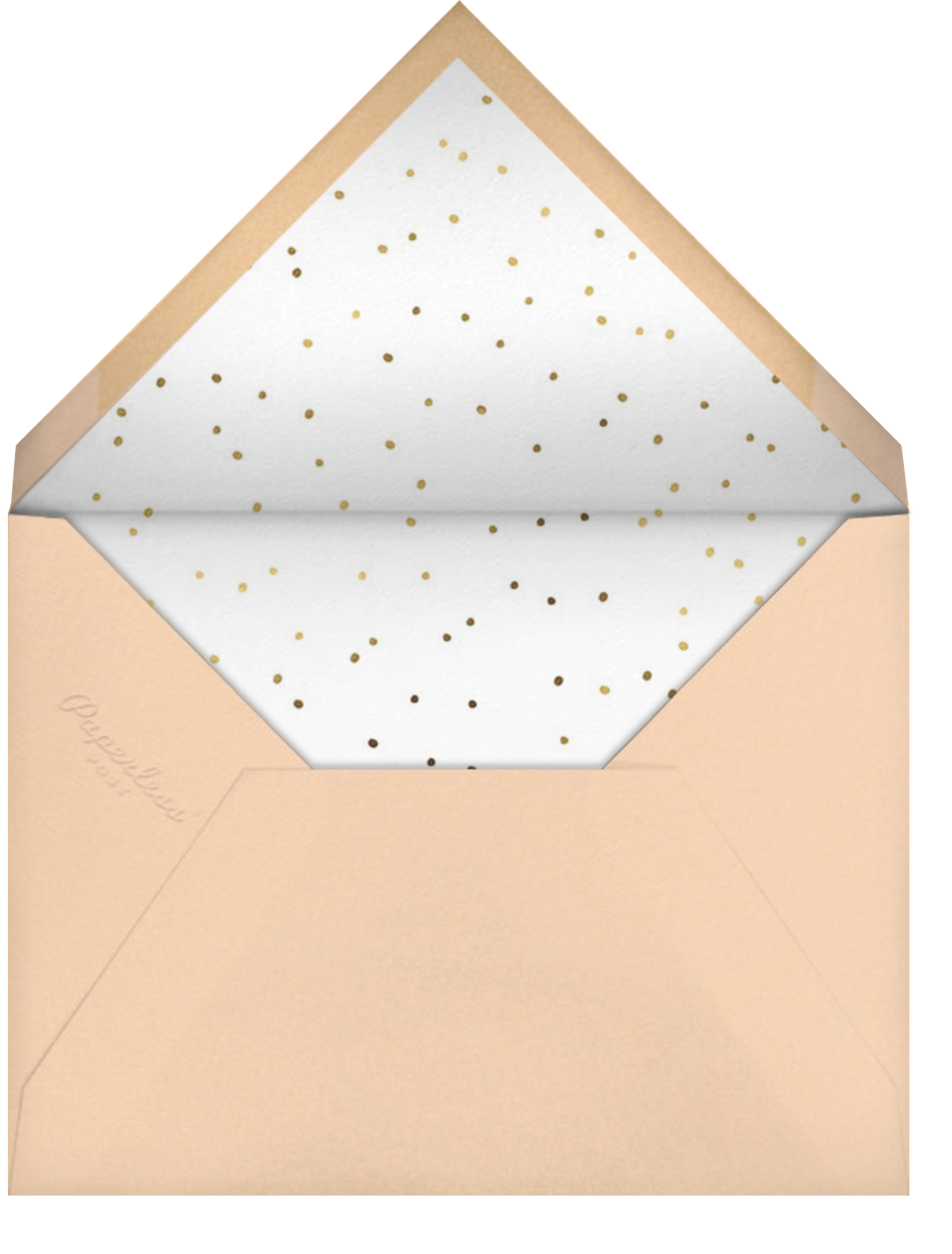 Chiens Chic - Hello!Lucky - Bridal shower - envelope back