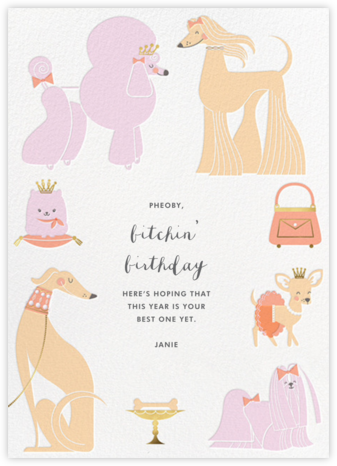 Chiens Chic - Hello!Lucky - Hello!Lucky Cards