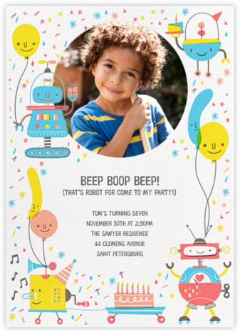 Do the Robot - Hello!Lucky - Invitations