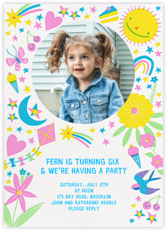 Everything Nice - Hello!Lucky - Birthday invitations