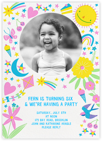 Everything Nice - Hello!Lucky - Online Kids' Birthday Invitations