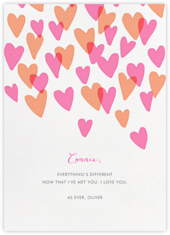 Hearts a Flutter - Hello!Lucky - Online greeting cards