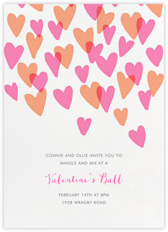 Hearts a Flutter - Hello!Lucky - Invitations