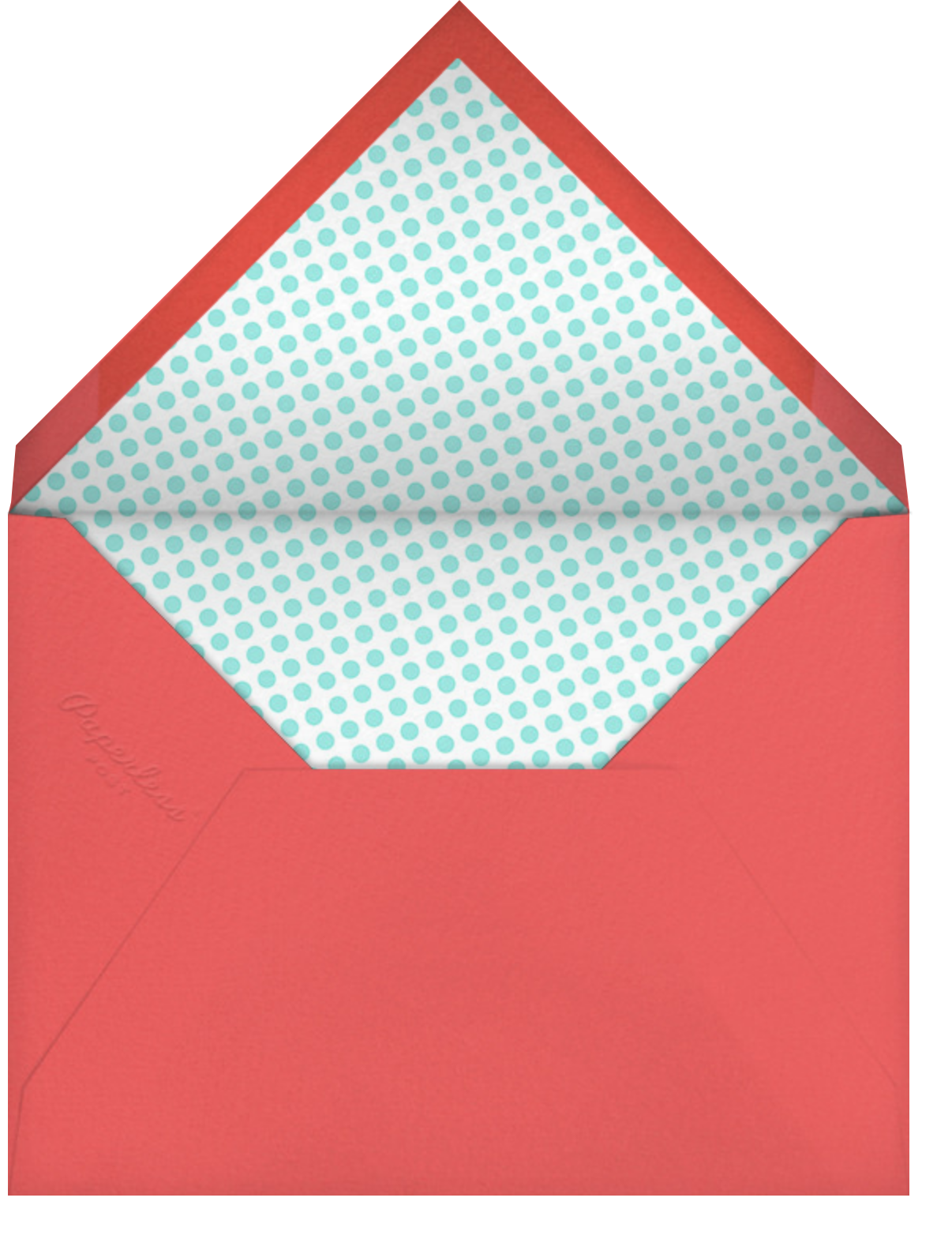 Roll Out - Hello!Lucky - Kids' birthday - envelope back