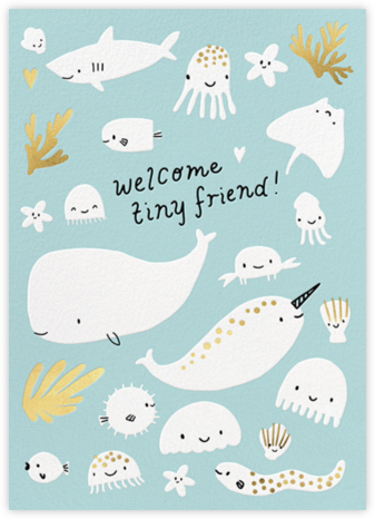 Underwater Welcome - Hello!Lucky - Online Cards