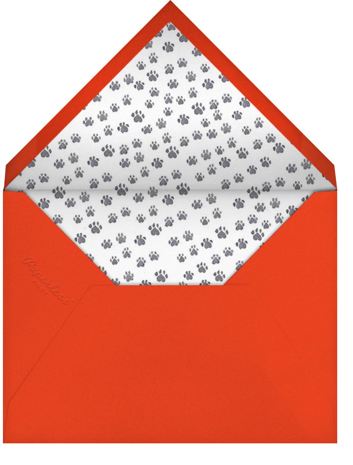 Hot Pursuit - Paperless Post - Kids' birthday - envelope back
