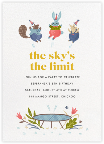 Little Tramps - Paperless Post - First Birthday Invitations