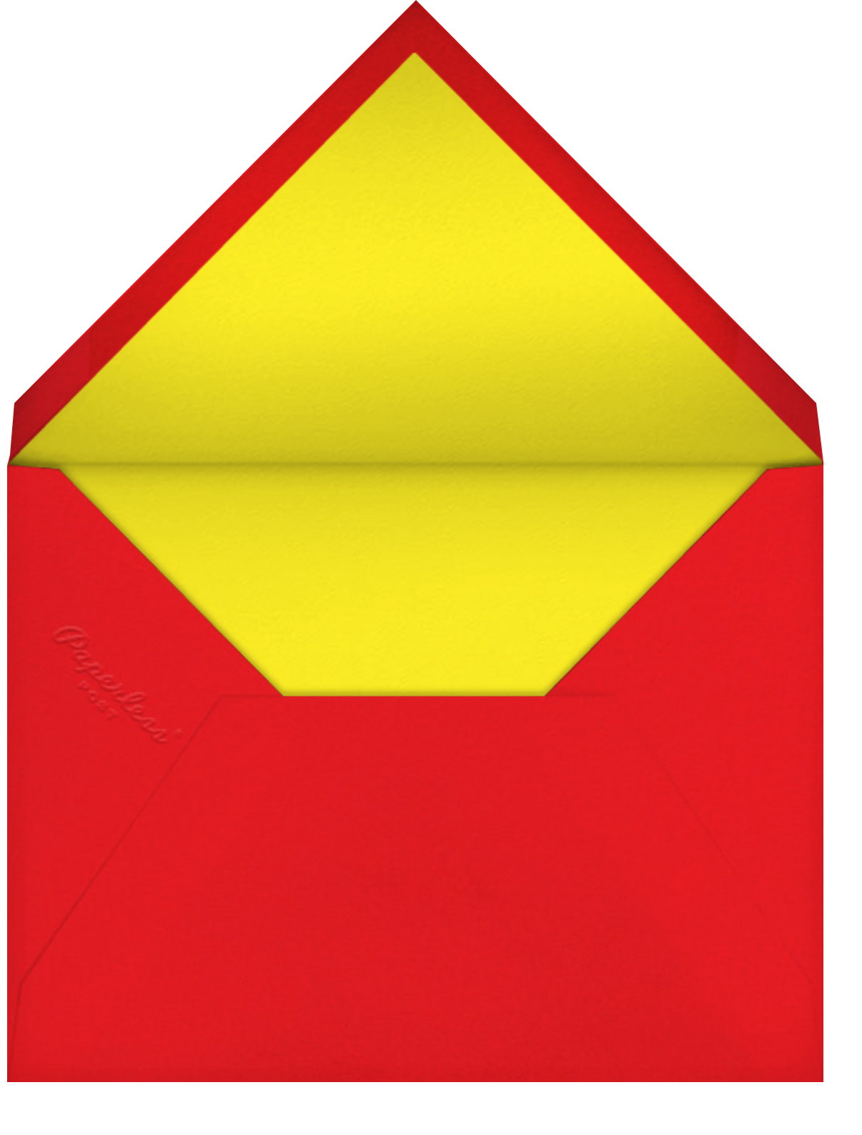 Spotted Soaker - Paperless Post - Kids' birthday - envelope back