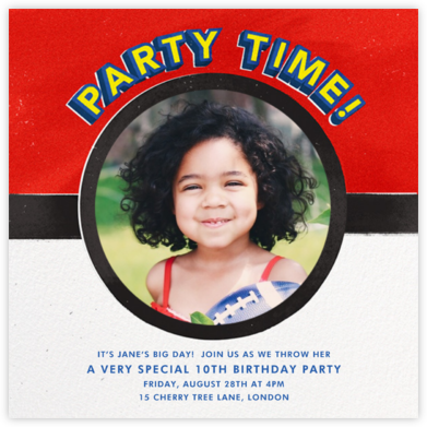 What a Catch - Paperless Post - Online Kids' Birthday Invitations