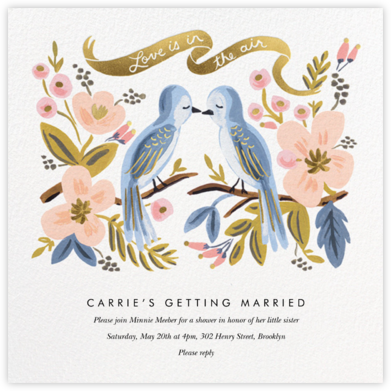Love is Lighter than Air - Rifle Paper Co. - Rifle Paper Co. Wedding
