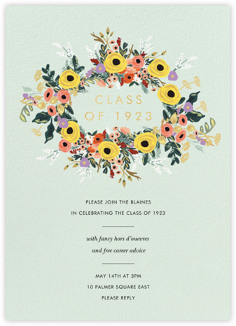 Buttercup Garland - Rifle Paper Co. - Rifle Paper Co. Invitations