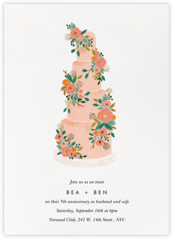 Princess Cake - Rifle Paper Co. - Rifle Paper Co. Invitations