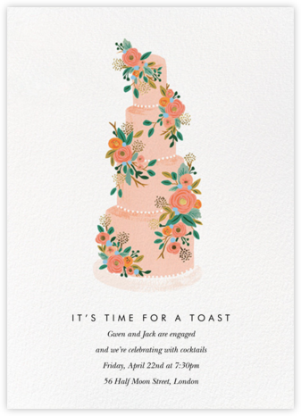 Princess Cake - Rifle Paper Co. - Engagement party invitations