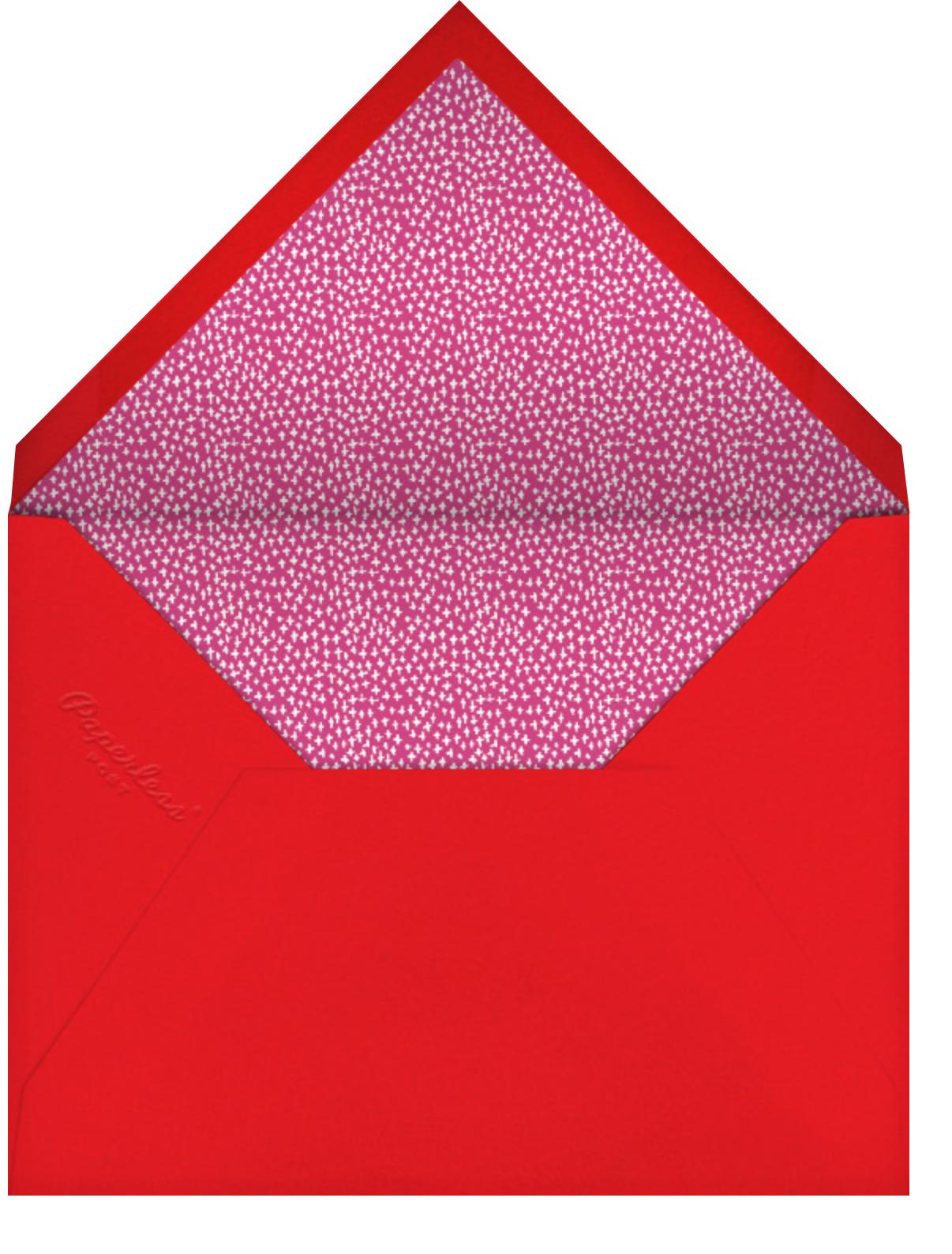 You're Double-Dipping - Mr. Boddington's Studio - Kids' birthday - envelope back