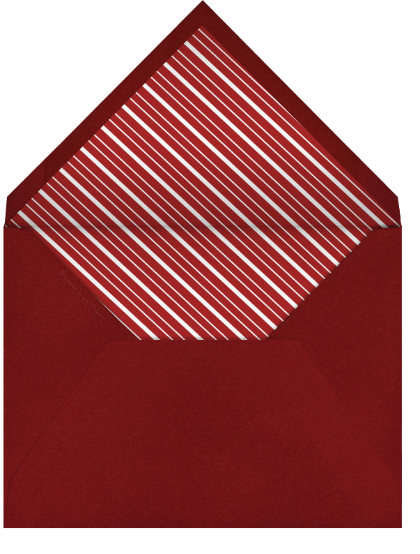 New York Christmas - Paperless Post - Envelope