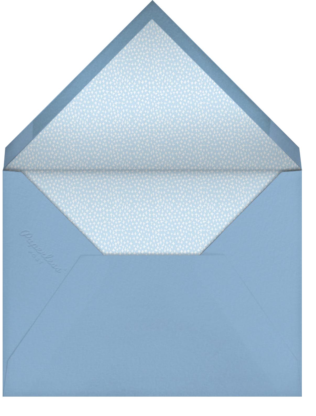 Circus Maximus - Mr. Boddington's Studio - Kids' birthday - envelope back