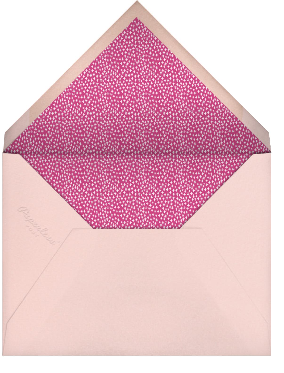 Party's Going Swimmingly - Fair - Mr. Boddington's Studio - Adult birthday - envelope back